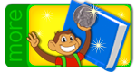Help Coin Monkey get ready for school!
