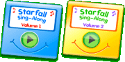 Starfall Sing-Along Volumes 1 and 2