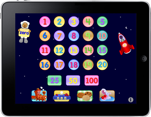Learn numbers 1-100 the Starfall way!